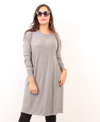 PULL LONG - Gris