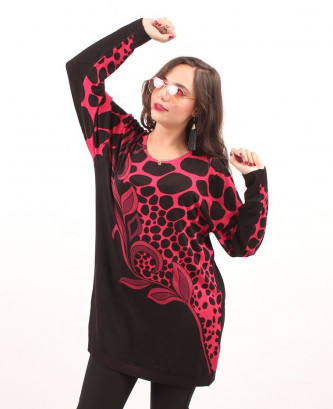 PULL HS - Rouge